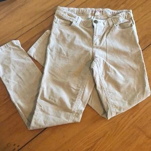 💰Free with purchase Lands' End pencil leg khakis